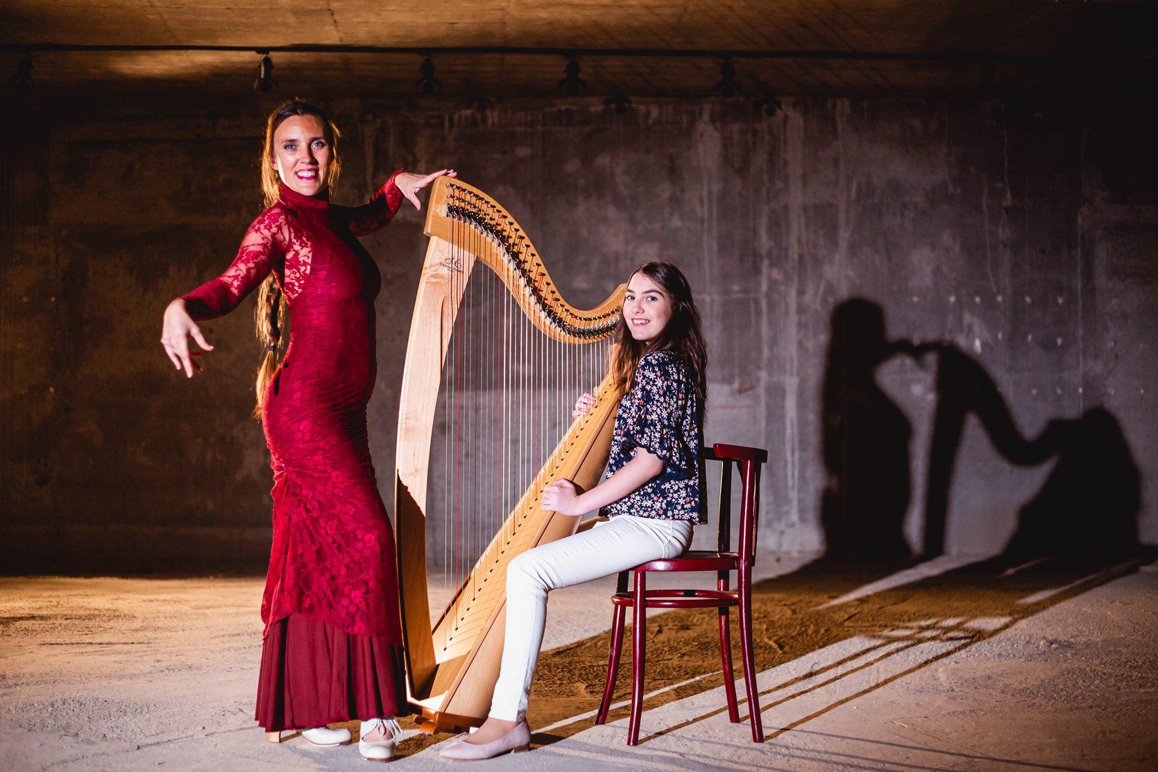 Čudnovati spoj flamenka i harfe (VIDEO)