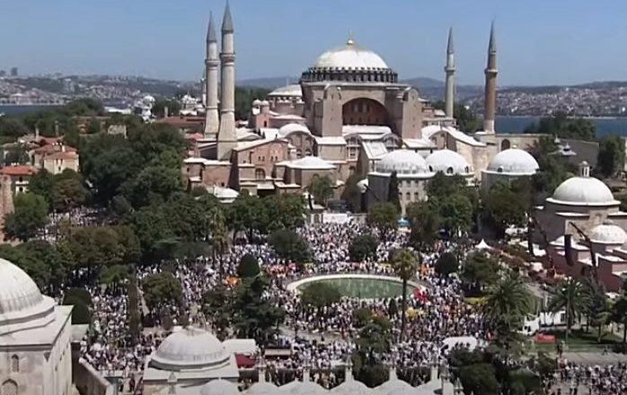 """Reakcija Grčke: """"Pretvaranje Aja Sofije u džamiju uvreda za civilizaciju 21. veka"""""""