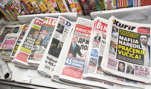 CFSP: Svaka šesta vest sa naslovnica u srpskoj štampi lažna