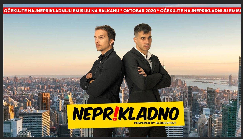 """Spremite se, od oktobra kreće """"Neprikladno"""" sa Urošem Timićem i Markom Mićovićem"""