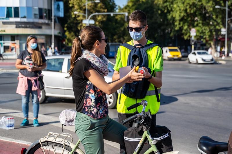 """""""Biciklistički doručak"""" u Novom Sadu: Bezbednost biciklista na prvom mestu"""