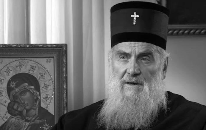 Preminuo patrijarh srpski Irinej