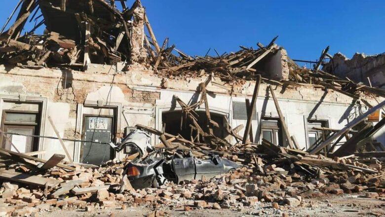 Novi zemljotresi jutros kod Petrinje, akcije spašavanja povređenih još uvek traju