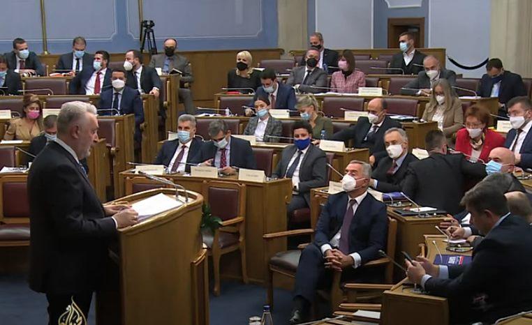 "Izglasana nova Vlada Crne Gore: ""Rad, red i odgovornost"""