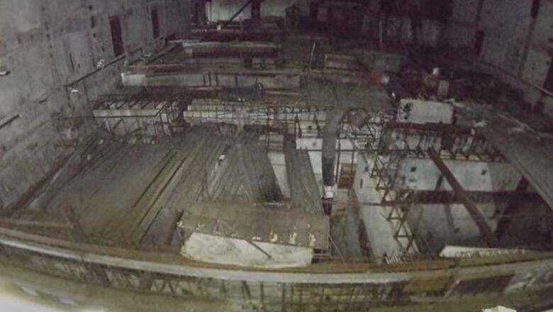 Dronom u peti blok nuklearne elektrane u Černobilju (VIDEO)