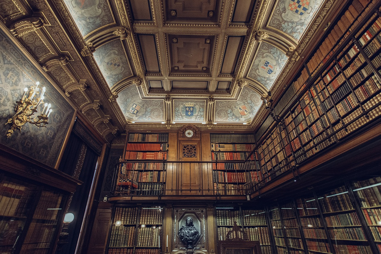 Impresivna biblioteka velikog pisca Umberta Eka