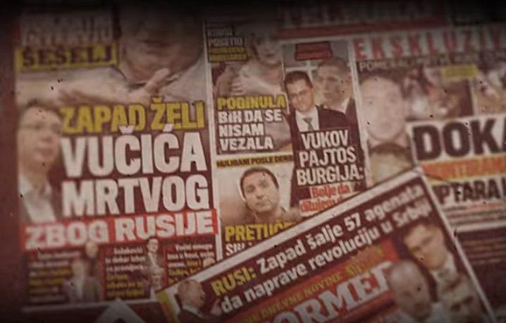 Studija: SNS i Aleksandar Vučić dominiraju medijskom scenom Srbije