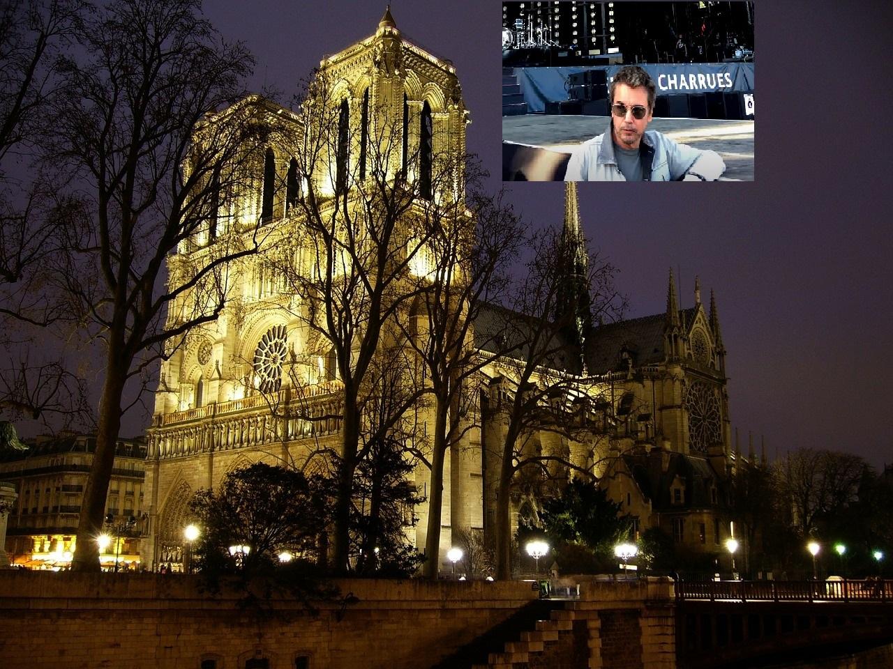 Novogodišnji koncert Žan Mišel Žara iz digitalizovane katedrale Notr Dam