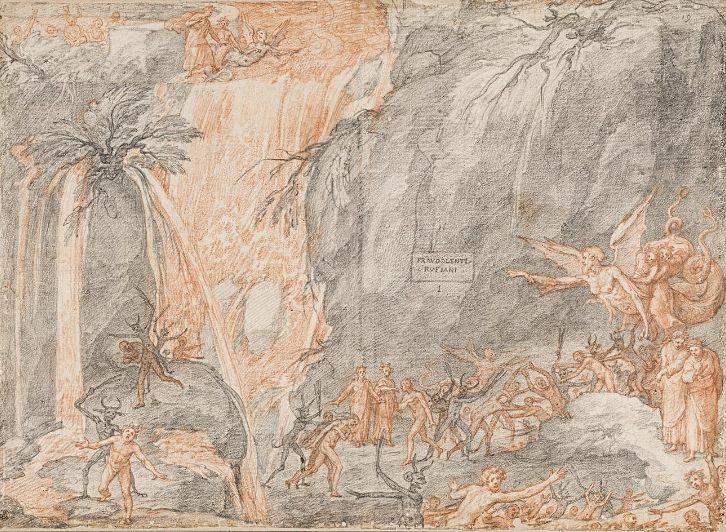 """Sećanje na Dantea: Onlajn izložba crteža """"Božanstvene komedije"""""""