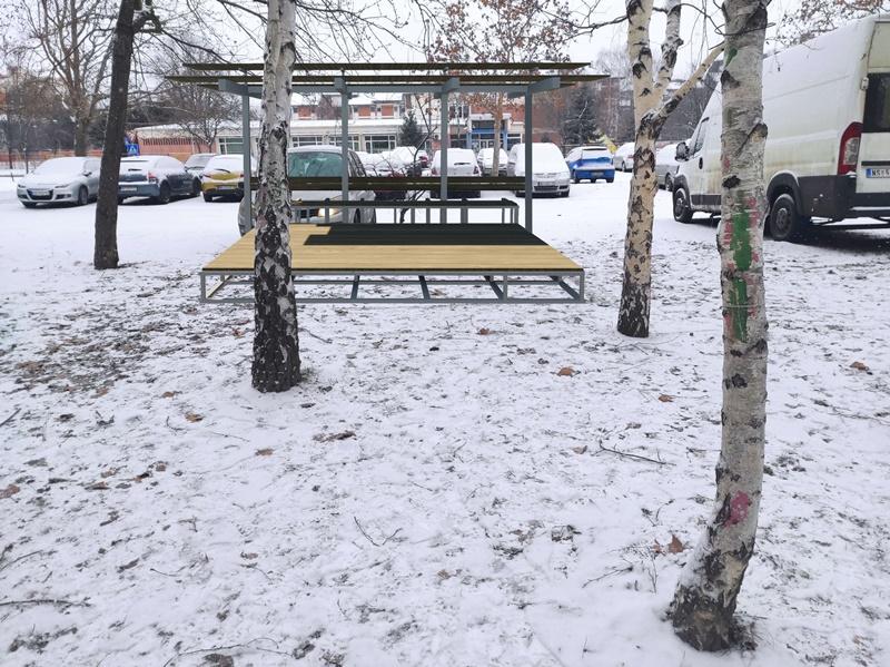 """""""Binacikl"""" novo parking mesto za bicikliste u Novom Sadu"""