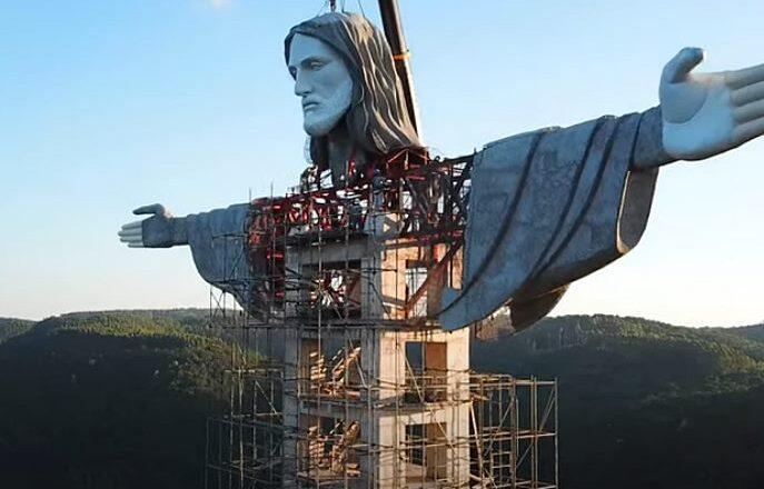 Gradi se nova džinovska statua Isusa Hrista u Brazilu