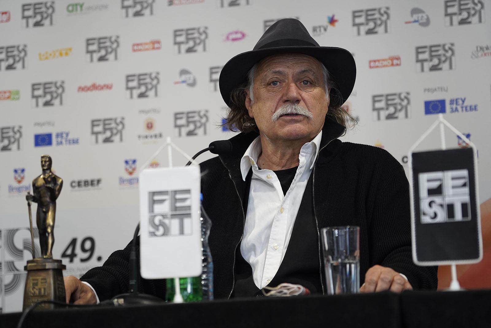 """Rade Šerbedžija: """"Jugoslovenski filmovi velikih majstora su iznedrili FEST"""""""