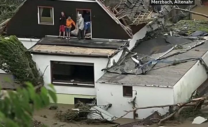 Poplave u Nemačkoj ne jenjavaju, i delovi Austrije pod vodom